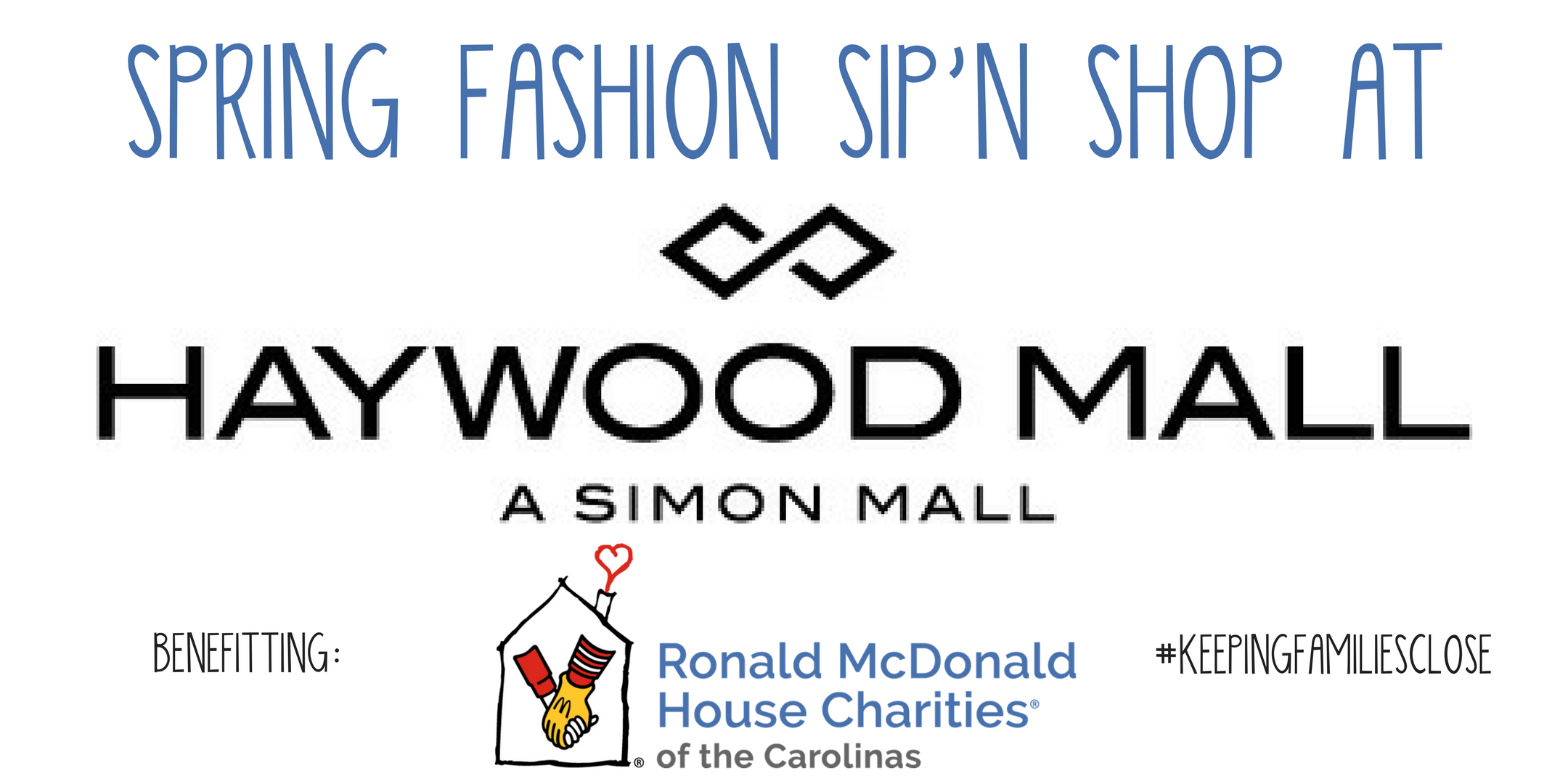Spring Fashion Sip'n Shop