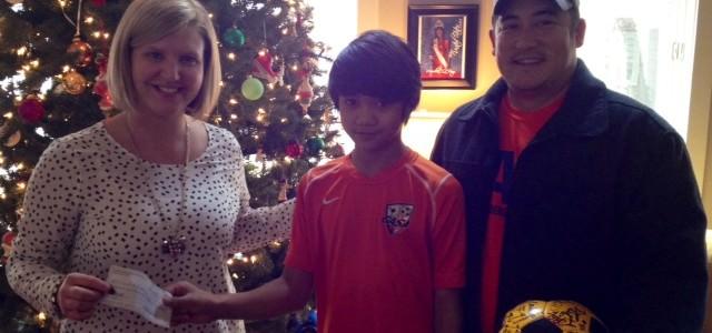 Clemson Anderson Soccer Alliance Gives Back