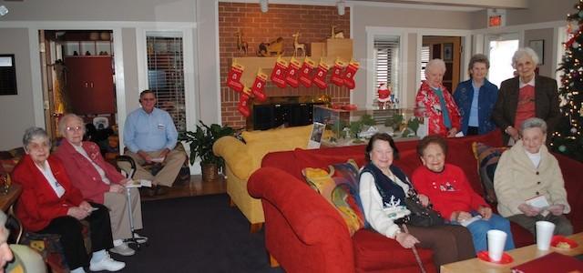 Haywood Estates Visits the Ronald McDonald House