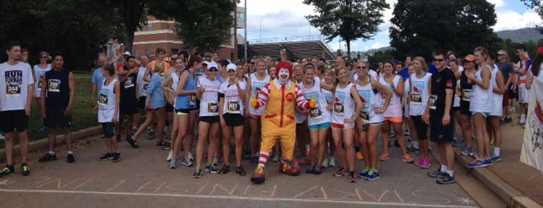 Pi Run for Ronald