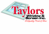 Taylors Windows and Screen