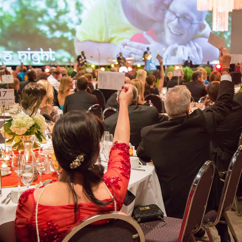 photo of people at the heart and hands gala